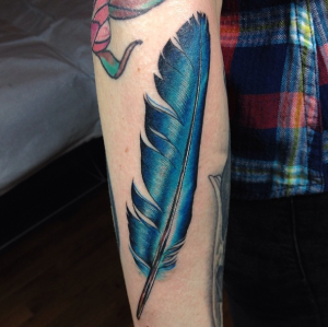 bluefeather